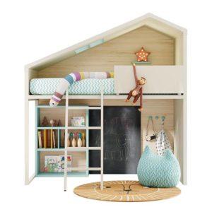 Colección Dormitorio Juvenil Cottage, Lagrama