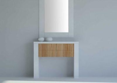 Mueble recibidor blanco_roble_diseno 724x1024 Cubimobax
